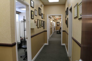 Inside the Hollywood chiropractor's office of Dr. Abramson